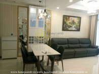 So bright and airy is this apartment! Located right in Vinhomes Central Park