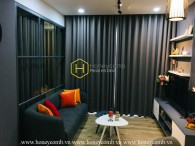High-class mysterious apartment with dark theme style in Wilton Tower