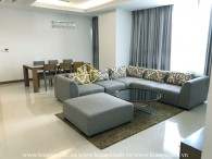 Beautiful apartment in Xi Riverview – Fully-furnished – Nice city view for rent