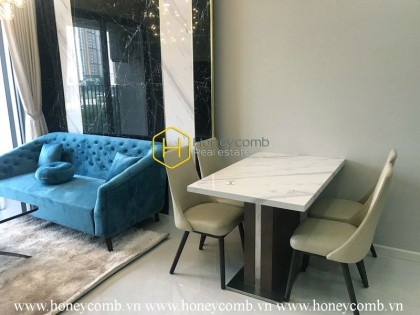 You are unable to stop looking at this marvelous 2 bed-apartment from Masteri An Phu
