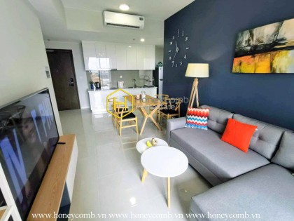 The 2 bedroom-apartment with smart design is still available at Masteri An Phu
