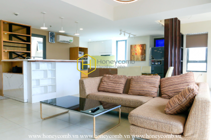 Linkable 4 beds apartment with nice furnished in Masteri Thao Dien