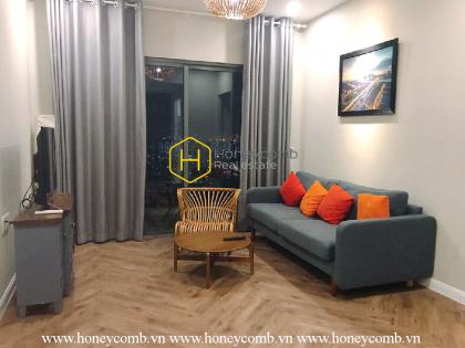 Generous city view apartment in Masteri Thao Dien
