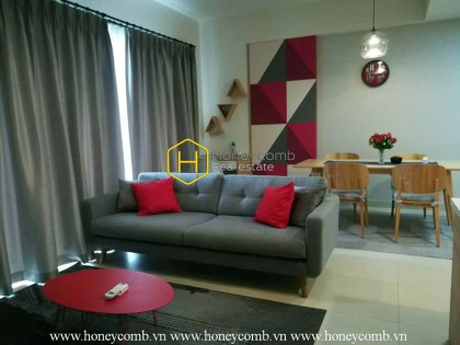 A whole new shiny living space in Masteri Thao Dien for rent