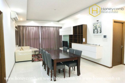 Elegant and shiny apartment with 3 spacious bedrooms in Thao Dien Pearl