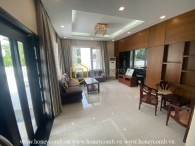 Suprised with the super big area of this Nguyen Van Huong villa
