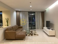 Alluring apartment for rent with rustic design in City Garden