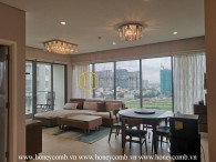 Căn hộ 2 phòng ngủ mang phong cách Nhật Bản rất ấn tượng tại Diamond Island cho thuê