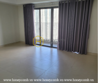 Elegant layout in this unfurnished apartment for rent in Masteri Thao Dien