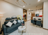 This excellent apartment in Sunwah Pearl with palatial architecture will touch your heart