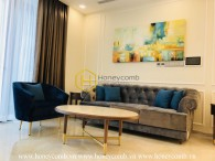 A royal art apartment for rent only available at Vinhomes Golden River