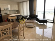 You cannot resist this chic and unique apartment in Vinhomes Golden River
