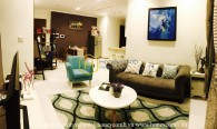 Feel the dynamic power spreading over the Vinhomes Central Park apartment