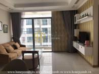 Light-filled apartment for rent with elegant design in Vinhomes Central Park