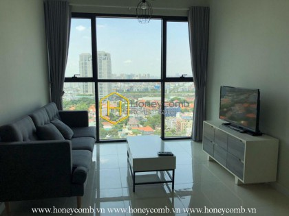 Two bedrooms apartment high floor in The Ascent for rent