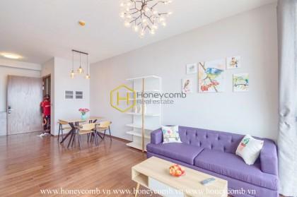 An ideal apartment in D'edge to enjoy the Saigon view