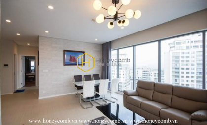 A perfect Diamond Island apartment for rent from the design, view to smart amenities