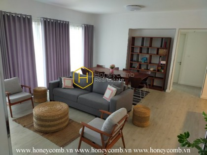 Contemporary fully furnished 4 bedrooms apartment in Gateway Thao Dien