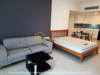 Beautiful furnished studio apartment in Gateway Thao Dien