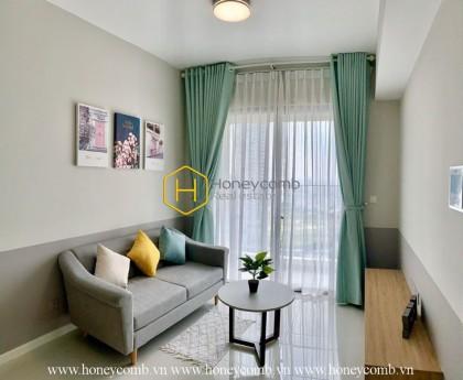 Căn hộ 2 phòng ngủ rộng rãi, chưa có nội thất & view đẹp tại Masteri An Phú cho thuê