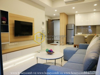 The elegant 2 bedrooms-apartment is new in Masteri An Phu