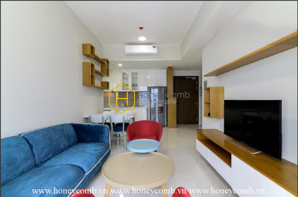 The colourful and airy 2 bedroom-apartment is very hot at Masteri An Phu