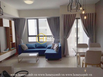 Beautiful and completely 2 beds apartment for rent in Masteri Thao Dien