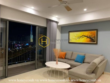 An ideal choice for everyone who loves the lovely design at Masteri Thao Dien apartment