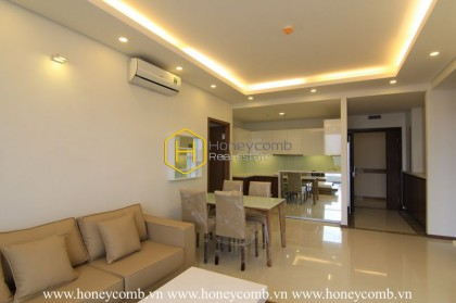 No more needs when having such a spacious and sun-filled Thao Dien Pearl apartment like this