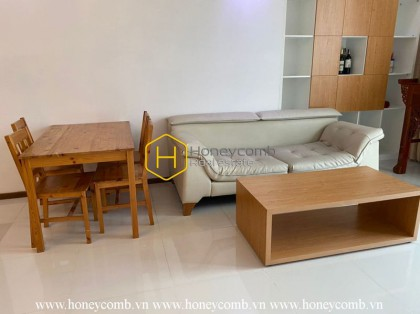 Thao Dien Pearl apartment for rent: Rustic design but modern and convenient life