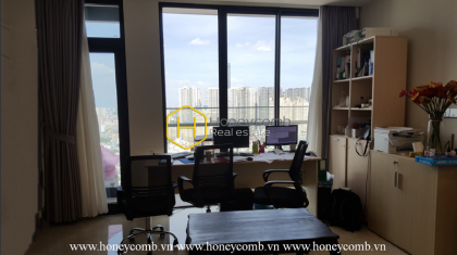 The 2 bedrooms-apartment with neoclassical style for leasing in Vinhomes Golden River
