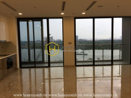 Realize your dream home in this unfurnished apartment for rent in Vinhomes Golden River