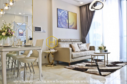 This extraordinary artistic apartment in Vinhomes Golden River may steal your heart