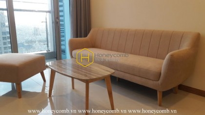 Vinhomes Central Park apartment – Sophistication in WHITE!