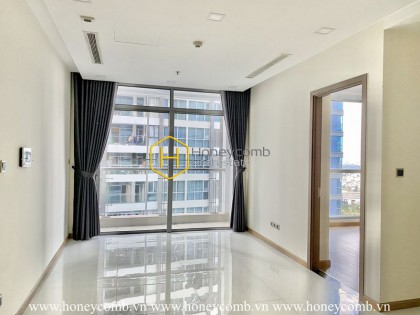 Begin a new stylelife in this unfurnished apartment at Vinhomes Central Park
