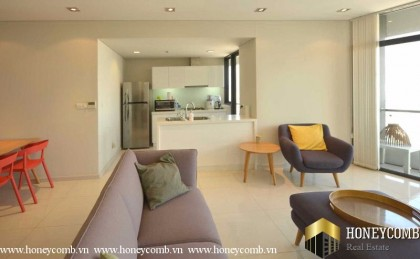 City Garden 2 bedroom apartment for rent, modern interior design