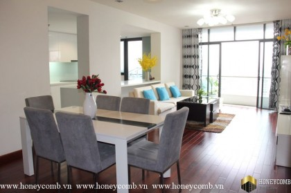 3 bedroom apartment for rent in City Garden, full furniture