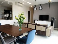 Luxury designed 4 bedrooms apartment in The Estella Heights for rent
