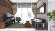 The Estella Heights apartment 2-bedrooms with modern style for rent