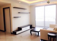 Tropic Garden 2 beds apartment with balcony wide and river view for rent
