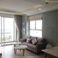 Tropic Garden 2-bedrooms apartment with river view for rent