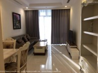 Vinhomes central park 2-bedrooms apartment high floor for rent