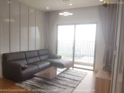 Great! Masteri 2 beds apartment luxury furnished for rent
