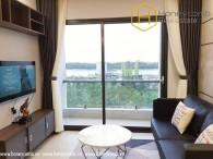 Bất ngờ !!! Nội thất đẹp với căn hộ 2 phòng ngủ tại Thành phố Mới Thủ Thiêm