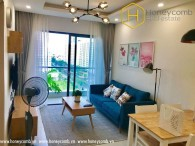 Modern style 2 bedrooms apartment in New City Thu Thiem for rent