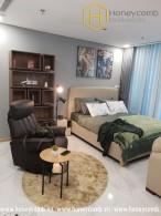 Splendid with 2 bedroom in Vinhomes Central Park for rent