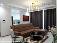 Luxury high floor apartment with design 4 bedrooms in Vinhomes Central Park