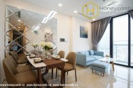 Cozy and chearful with 2 bedrooms apartment in Vinhomes Central Park