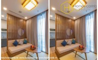 Highly-elegant and luxurious 2 bedrooms apartment in Vinhomes Central Park