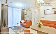Commodious 2 bedrooms apartment in Vinhomes Central Park